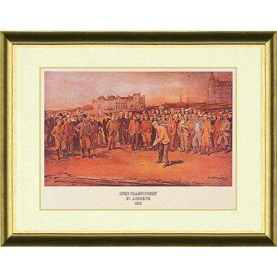 22.87.in x 28.87.in''Open Champ. St. Andrews 1895'' By PTM Images Framed Printed Wall Art