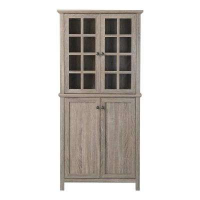 Reclaimed Wood China Cabinet