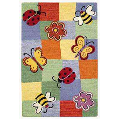 Kids Multi 4 ft. x 6 ft. Area Rug