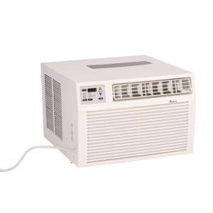 11,600 BTU R-410A Window Air Conditioner with 3.5 kW Electric Heat and Remote
