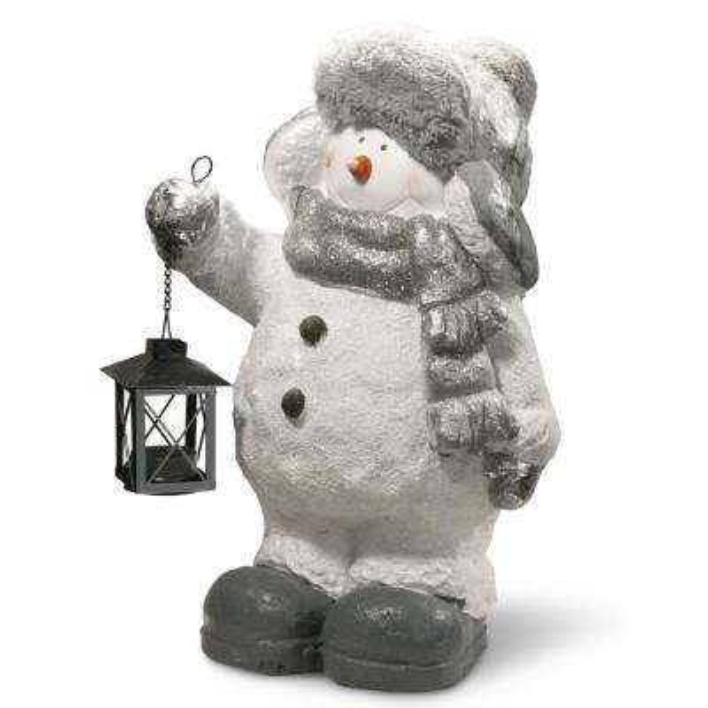 20 in. Snowman Decor Piece
