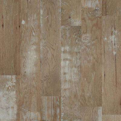 Take Home Sample - Major Event Hickory Woodlake Engineered Click Hardwood Flooring - 9.25 in. x 8 in.
