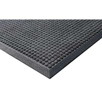 Town N Country 4 ft. x 6 ft. Charcoal Entrance Mat