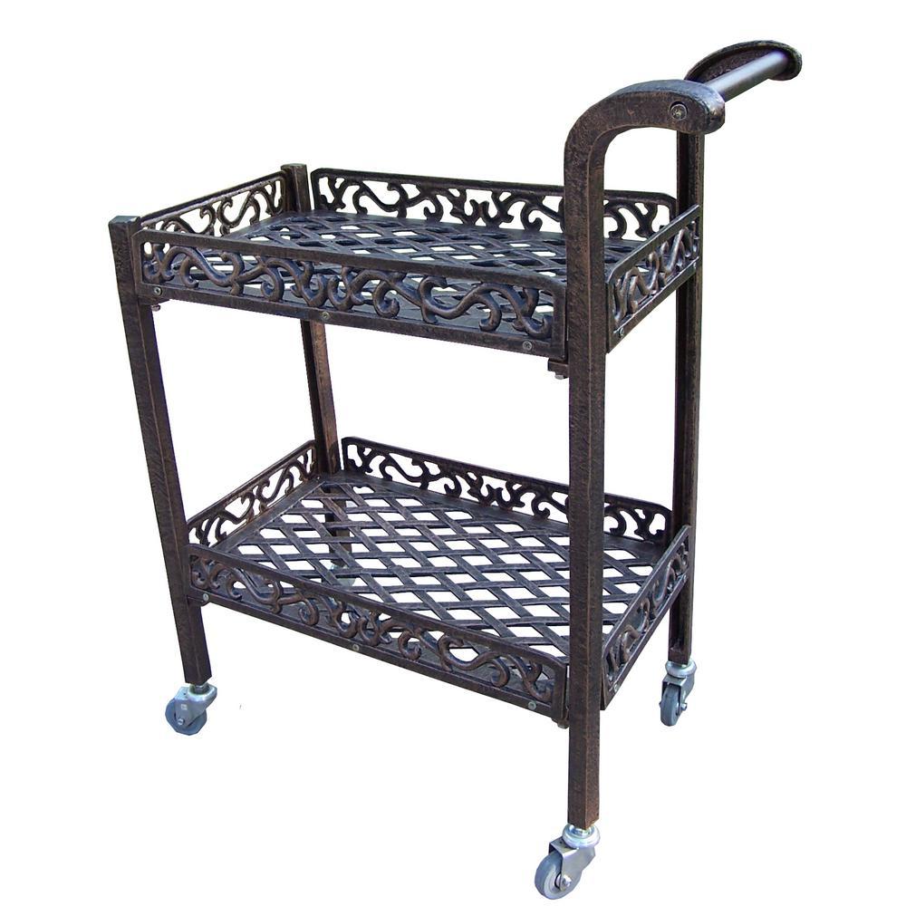 Mississippi Cast Aluminum Service Cart