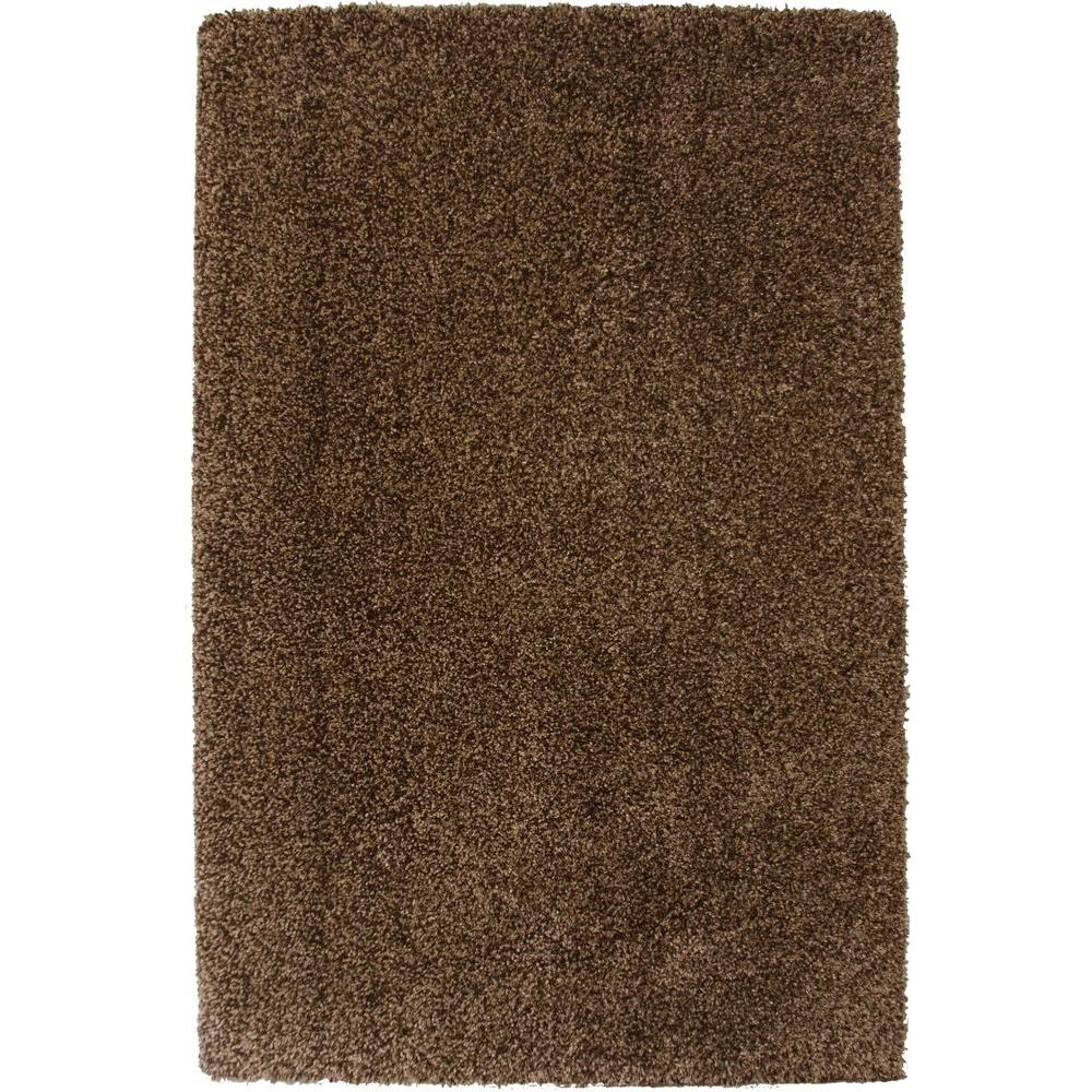 Home Decorators Collection Hanford Shag Blended Brown 5 ft. 3 in. x 7 ft. 5 in. Area Rug