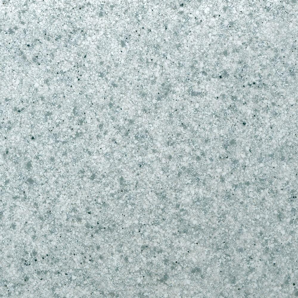 St. Paul 4 in. Solid Surface Technology Vanity Top Sample in Cloud