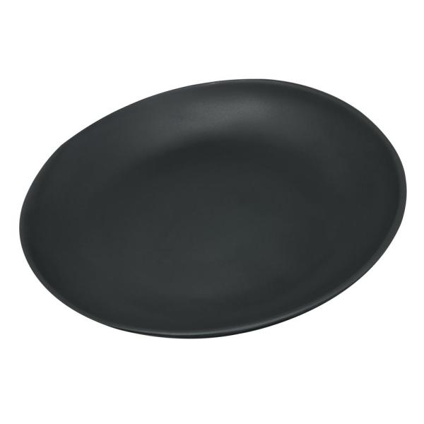 Carlisle Ridge 10.5 in. Slate Melamine Dinner Plate (12-Pack) 53107