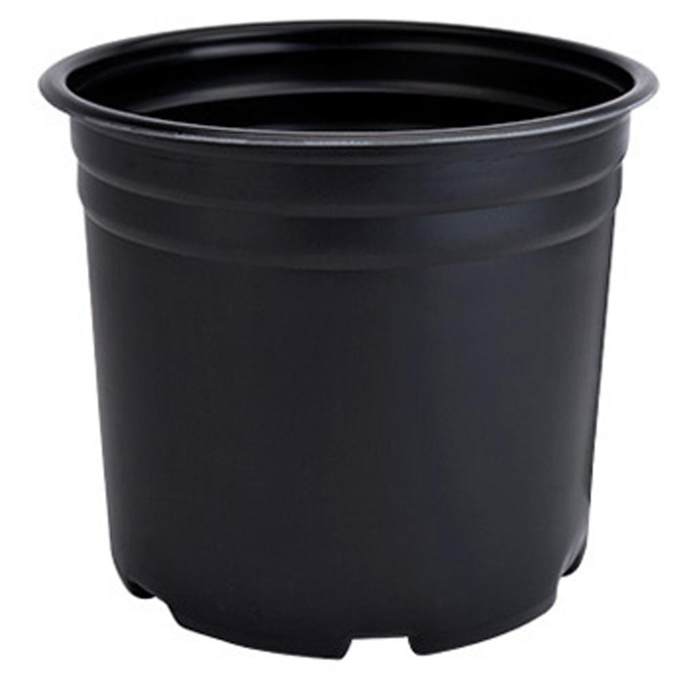 Black Therrmed Nursery Pot