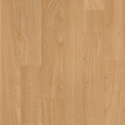 Take Home Sample - Willow Creek Collection Natural Maple Laminate Flooring - 5 in. x 7 in.