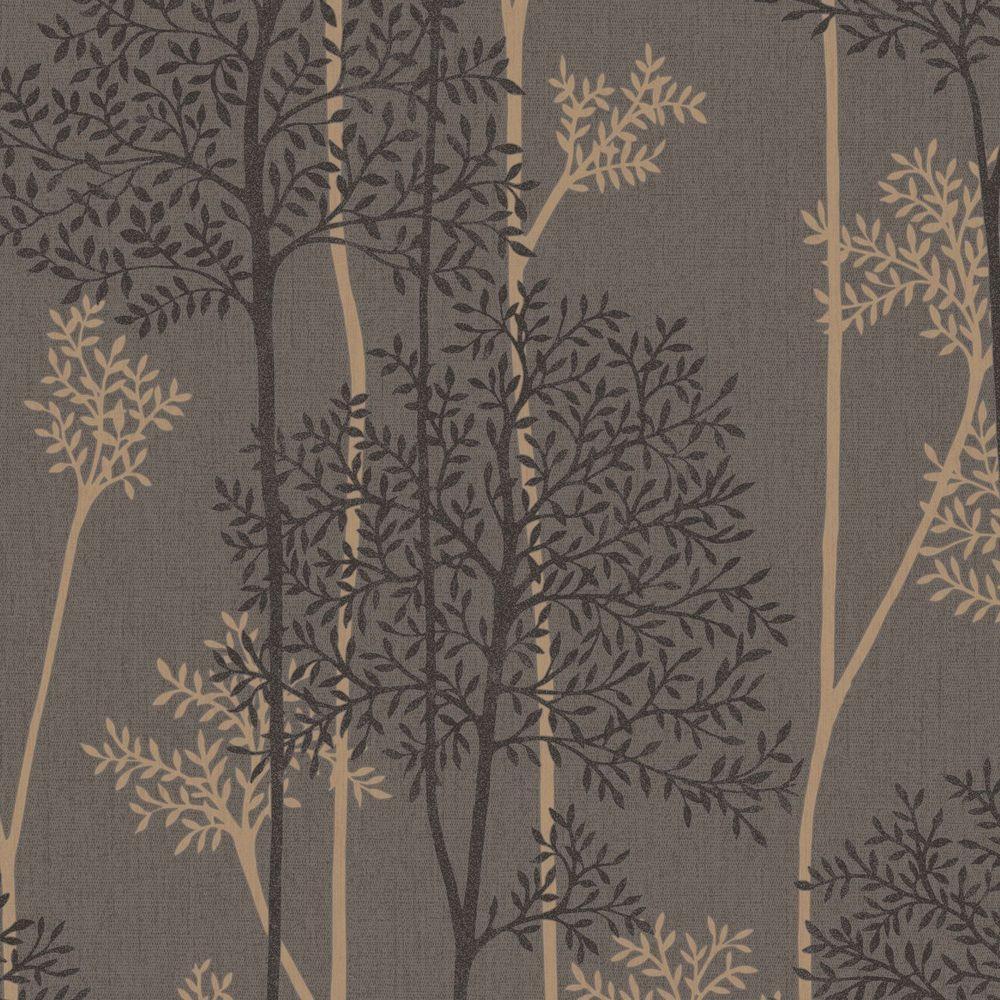 Graham & Brown Chocolate And Bronze Eternal Wallpaper 33