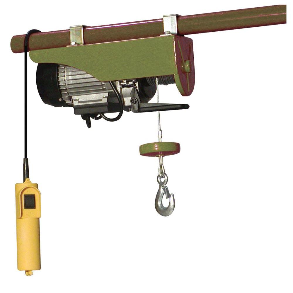 Electric Cable Hoist with Wired Control Switch-80024 - The Home Depot