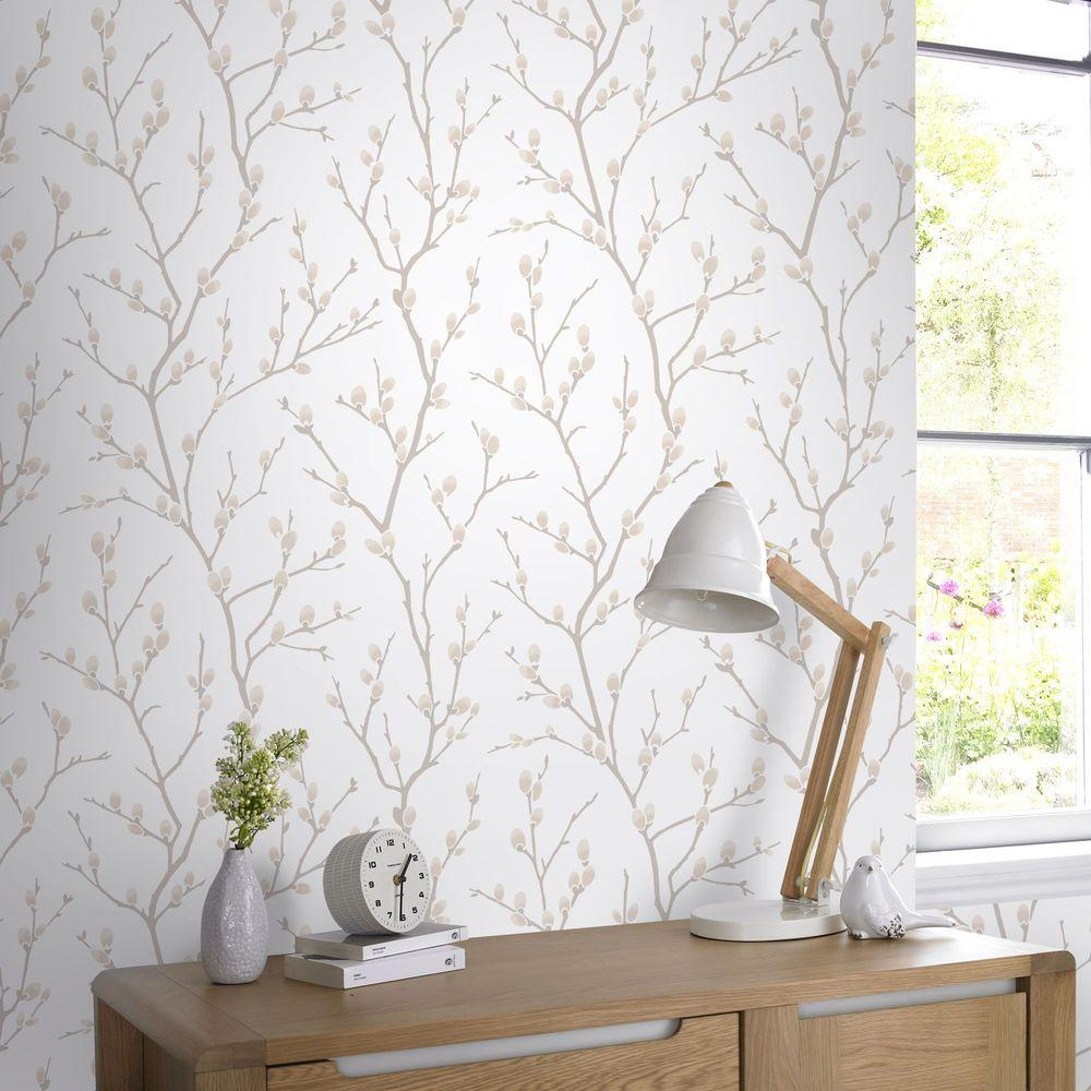 Graham & Brown Natural Karma Removable Wallpaper-33-277