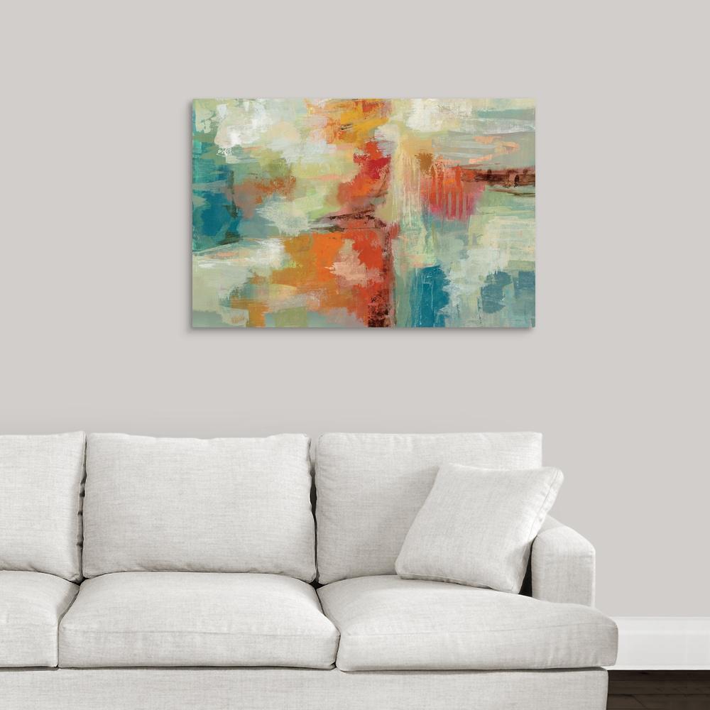 """Coral Reef"" by Silvia Vassileva Canvas Wall Art"