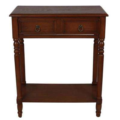 Carter Cherry Console Table