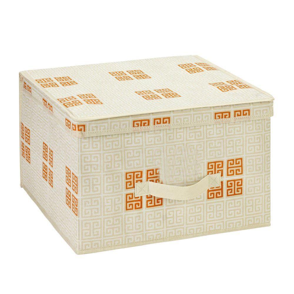 Jumbo Polypropylene Storage Box in Cameo Key Cream