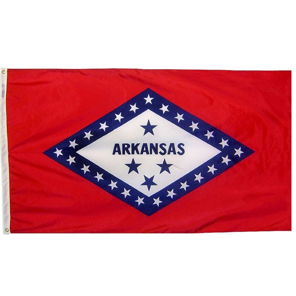 3 ft. x 5 ft. Arkansas State Flag