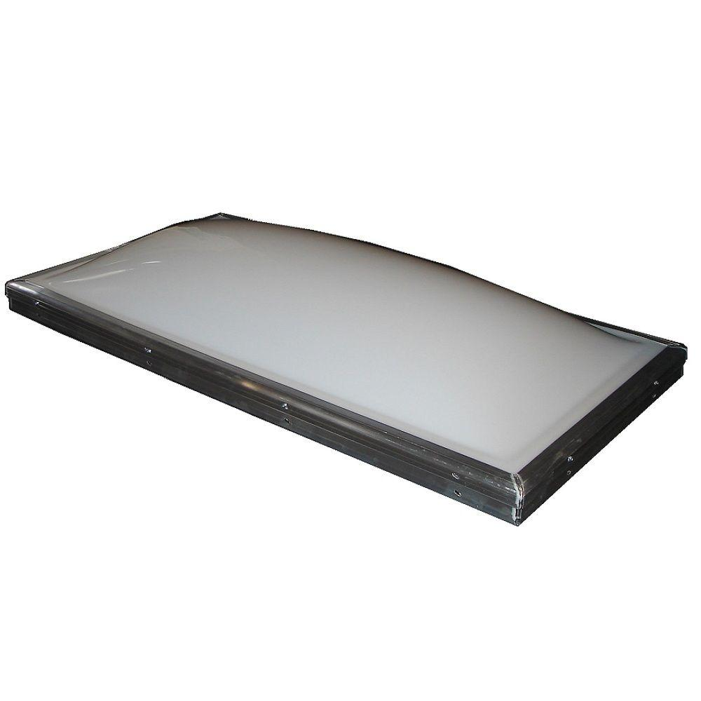 22-1/2 in. x 46-1/2 in. Fixed Curb-Mount Skylight