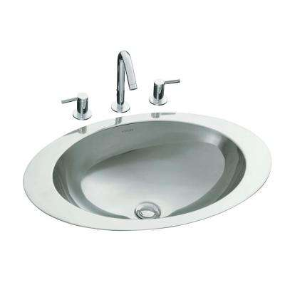 Superior Rhythm Drop In Oval Stainless Steal Bathroom Sink In Mirror. Mirror Stainless  Steel