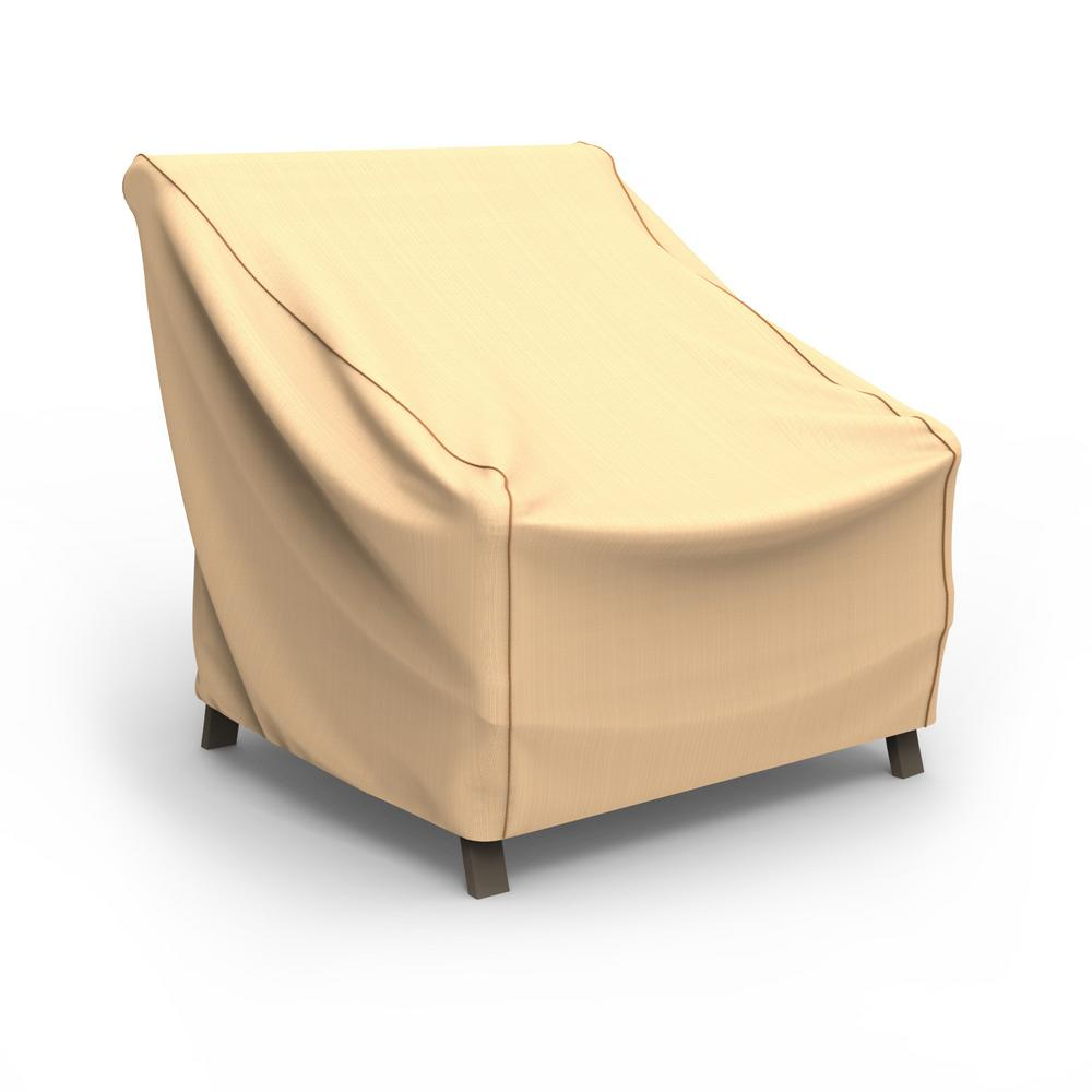 Budge Rust-Oleum NeverWet X-Large Tan Outdoor Patio Chair Cover