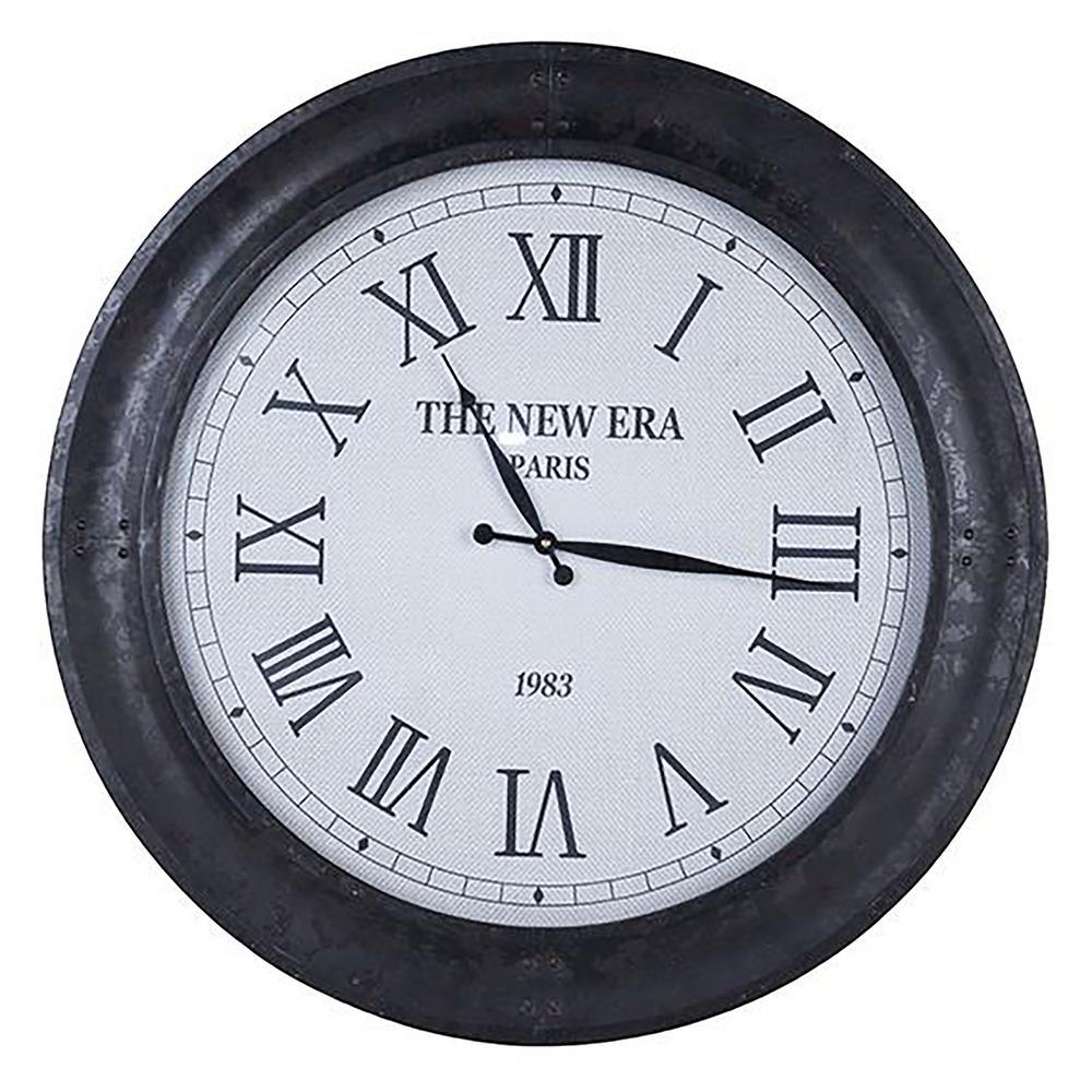 Dante 28 in. x 28 in. Classic Round Wall Clock
