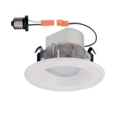 4 in. White LED Recessed Trim