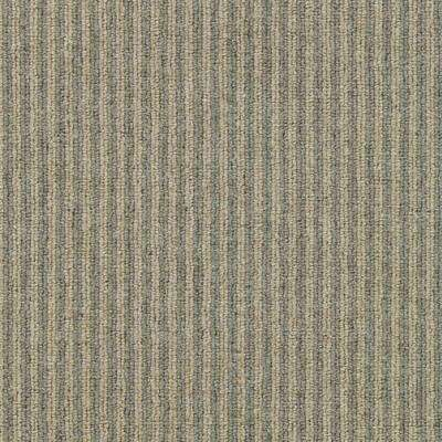Carpet Sample - Straight N Narrow - Color Cafe Creme Loop 8 in. x 8 in.