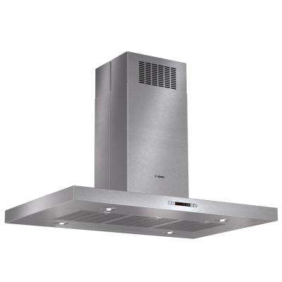 800 Series 42 in. Box Canopy Style Island Hood with Lights in Stainless Steel