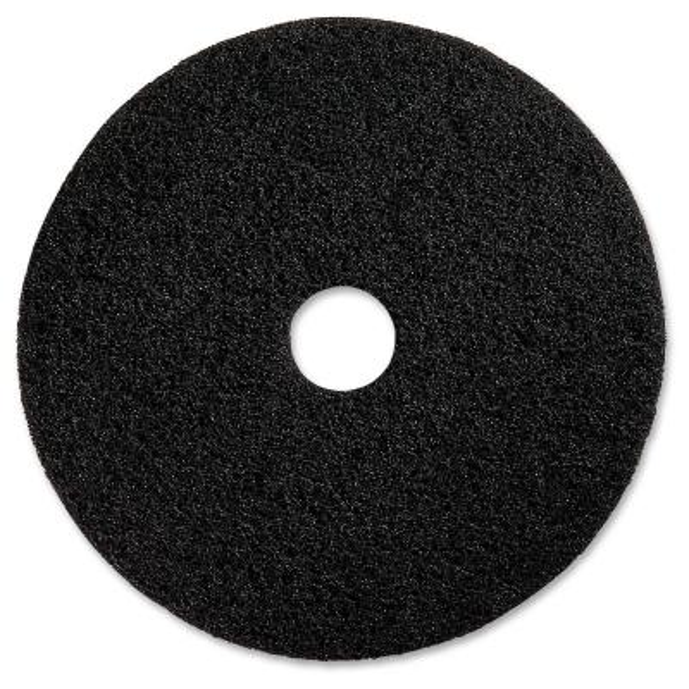 20 in. Black Floor Stripping Pad (5 per Carton)