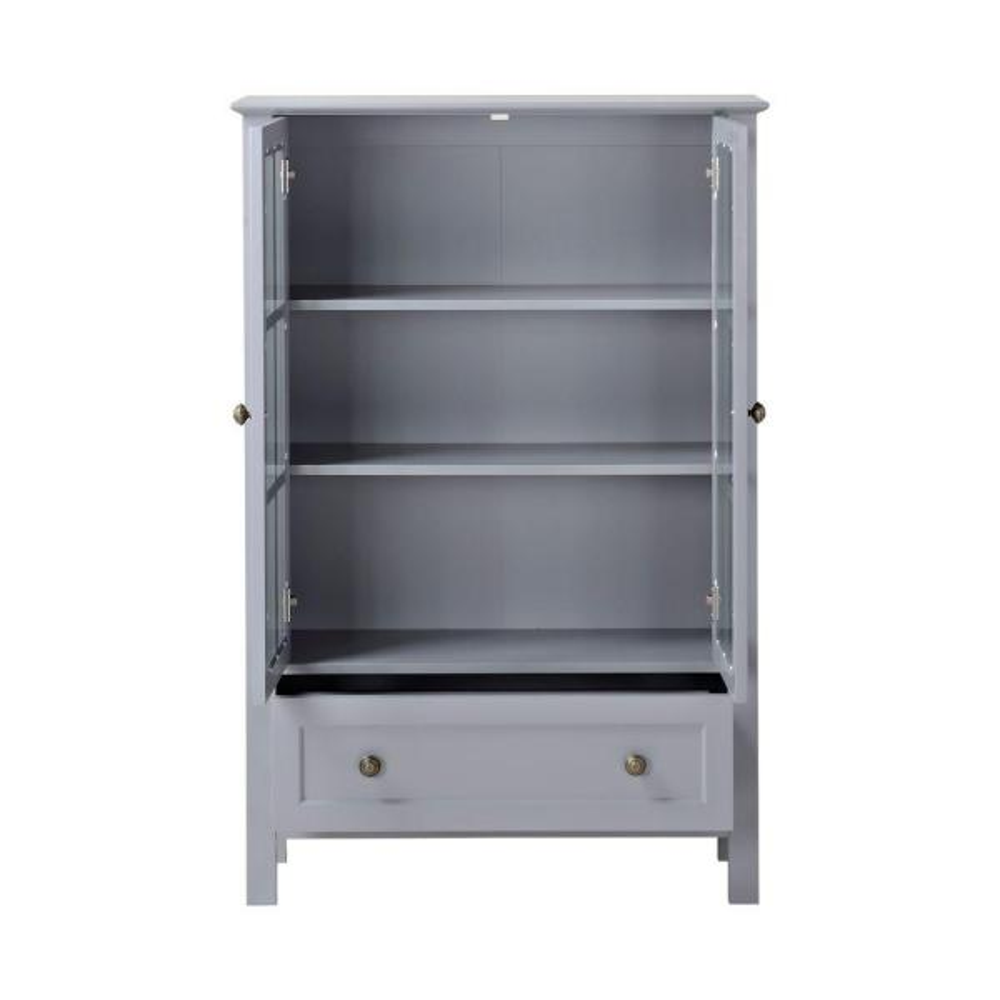 Homestar North America LLC Grey Storage Cabinet Z1510335G