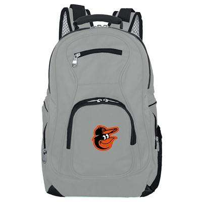 NCAA Northeastern Huskies Gray Backpack Laptop