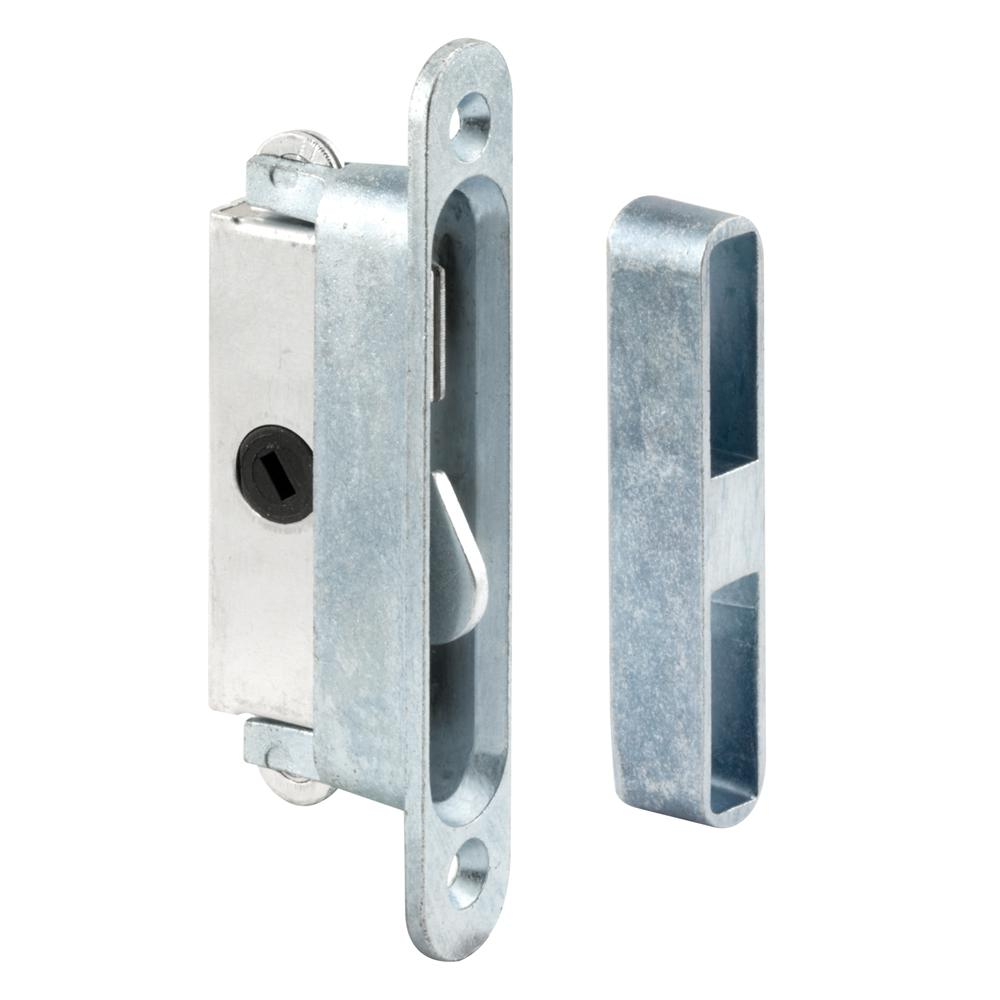 Slide Lock For Glass Door: Prime-Line Sliding Door Lock And Keeper Set-E 2079