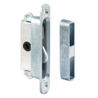 Silver Commercial Sliding Door Locks Door Locks The Home Depot