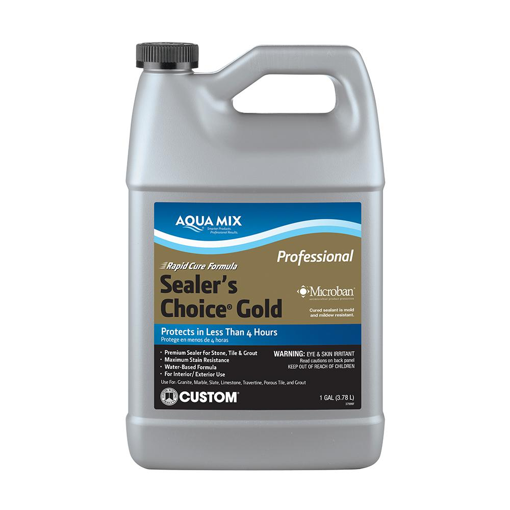 Custom Building Products Aqua Mix Sealers Choice Gold Gal - Commercial grout sealer