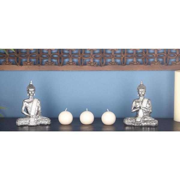 CosmoLiving by Cosmopolitan 8 in. x 6 in. Decorative Sitting Buddha
