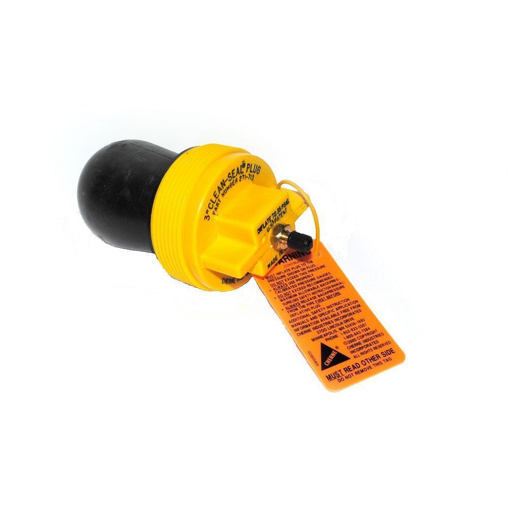3 in. Clean-Seal Plug