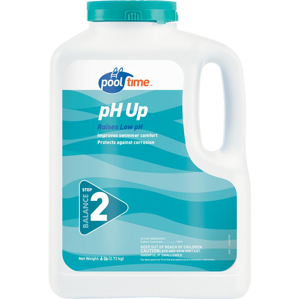 Pool Time 6 Lb Ph Up 23556ptm The Home Depot