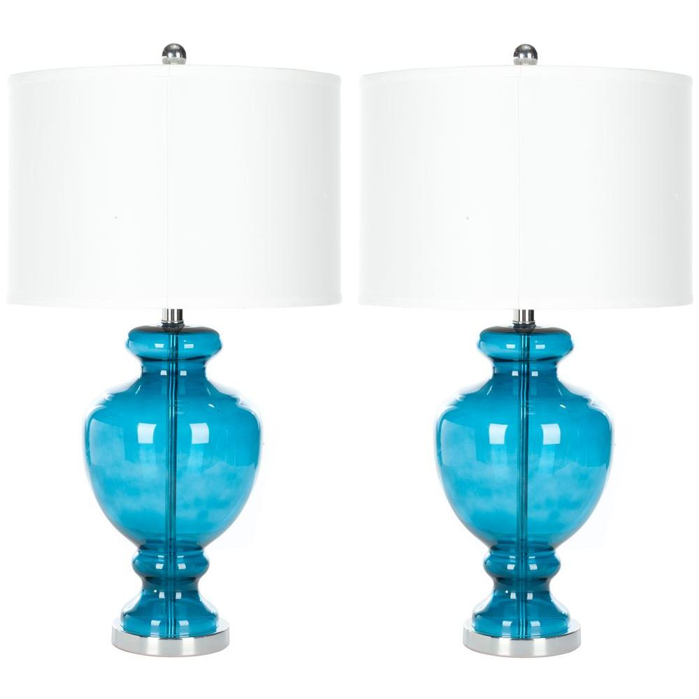 star world table products llc woodymood mosaic lamp turquoise