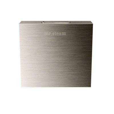 Replacement AromaSteam Square 3 in. Steam Head in Brushed Nickel for iTempo/iTempo Plus