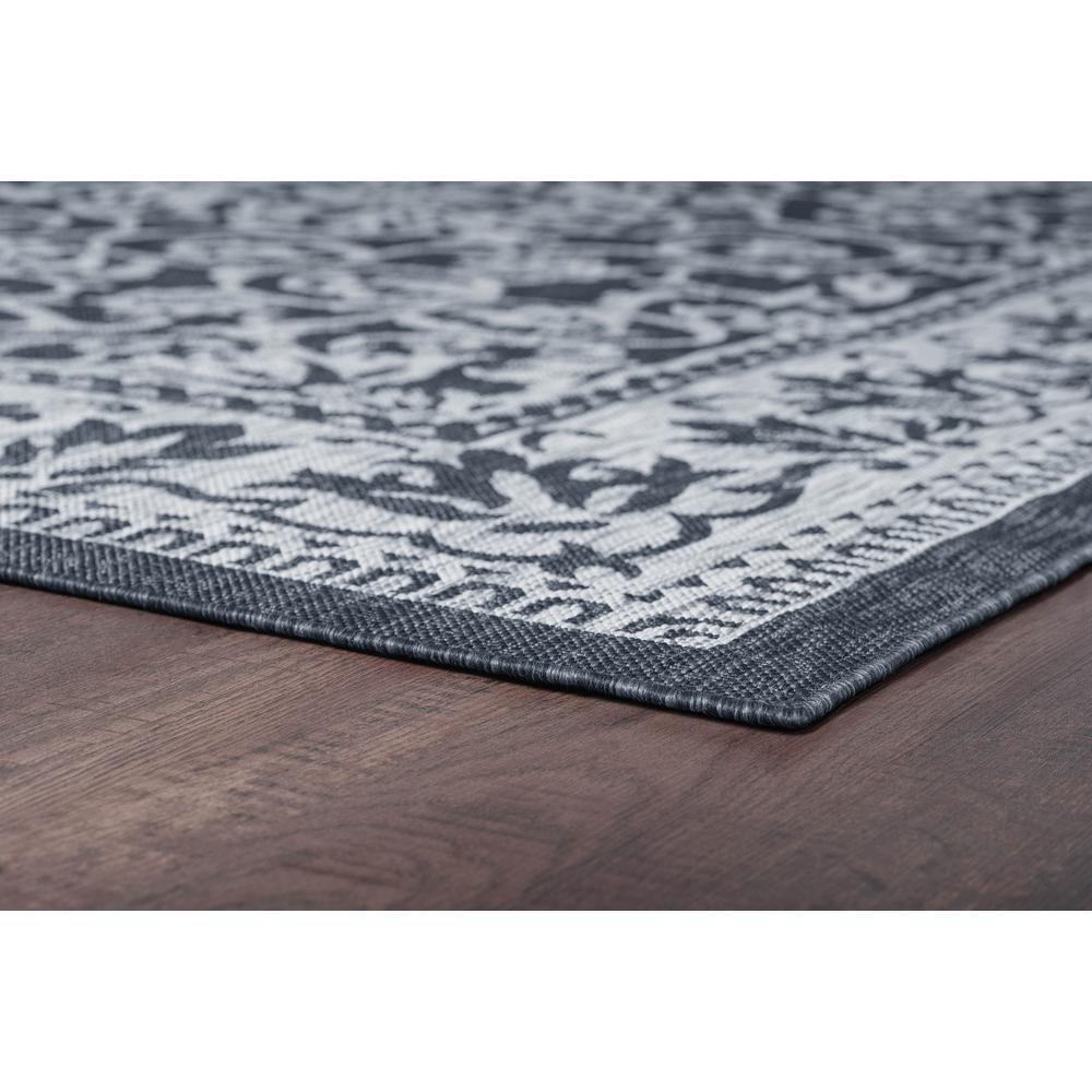 HD CHARCOAL  Area Rug Indoor//Outdoor Carpet 8 Ft x 12 Ft Mat Patio Entryway