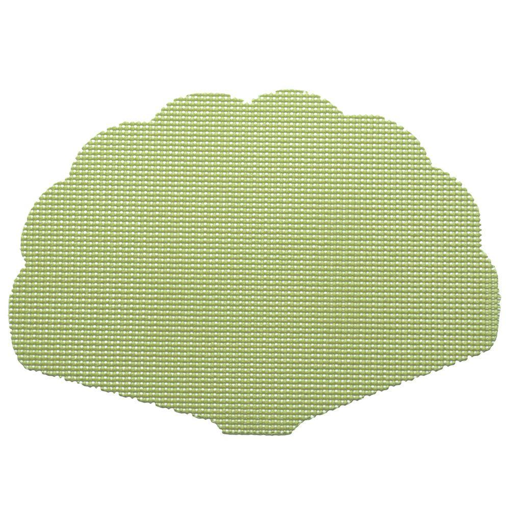 Fishnet Shell Placemat in Mist Green (Set of 12)