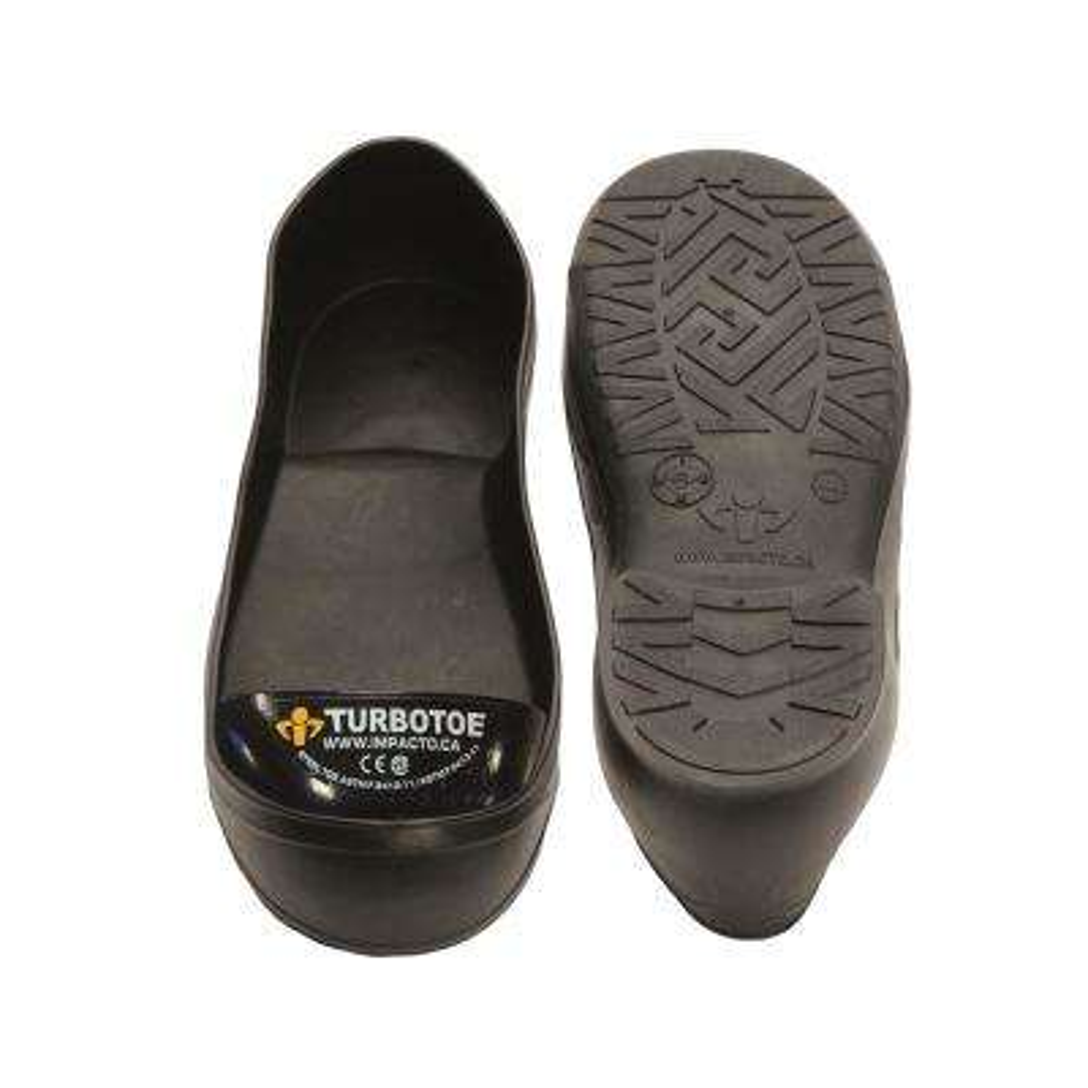 Men's 15-16 Black TurboToe Steel Toe Cap Overshoes