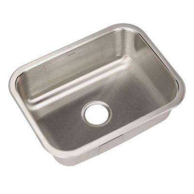 Elite Series Undermount Stainless Steel 23 in. Single Bowl Kitchen Sink