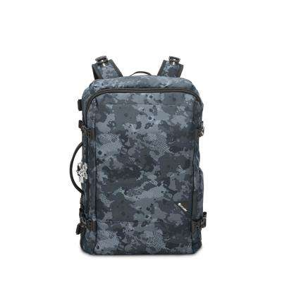 Vibe 20 in. Grey Camo Carry On Backpack