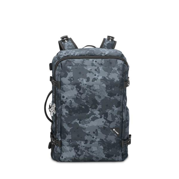 d722a0927 Pacsafe Vibe 20 in. Grey Camo Carry On Backpack 60310802 - The Home ...