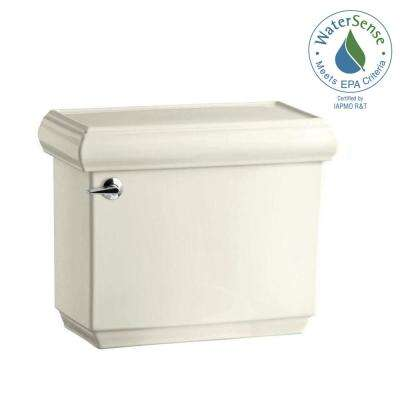 Memoirs 1.28 GPF Single Flush Toilet Tank Only with AquaPiston Flushing Technology in Biscuit