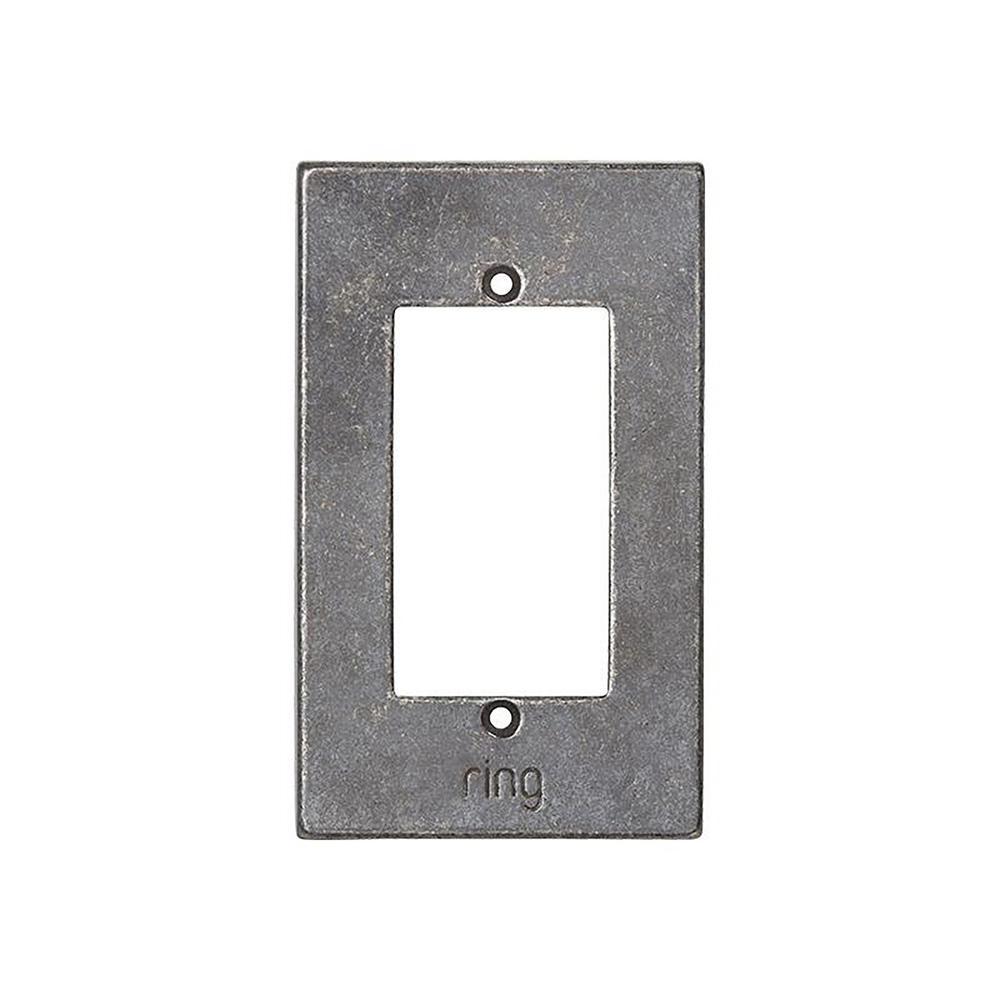 Wired Video Door Bell Elite White Bronze Medium Faceplate