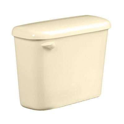 Colony 1.6 GPF Single Flush Toilet Tank Only for 10 in. Rough in Bone