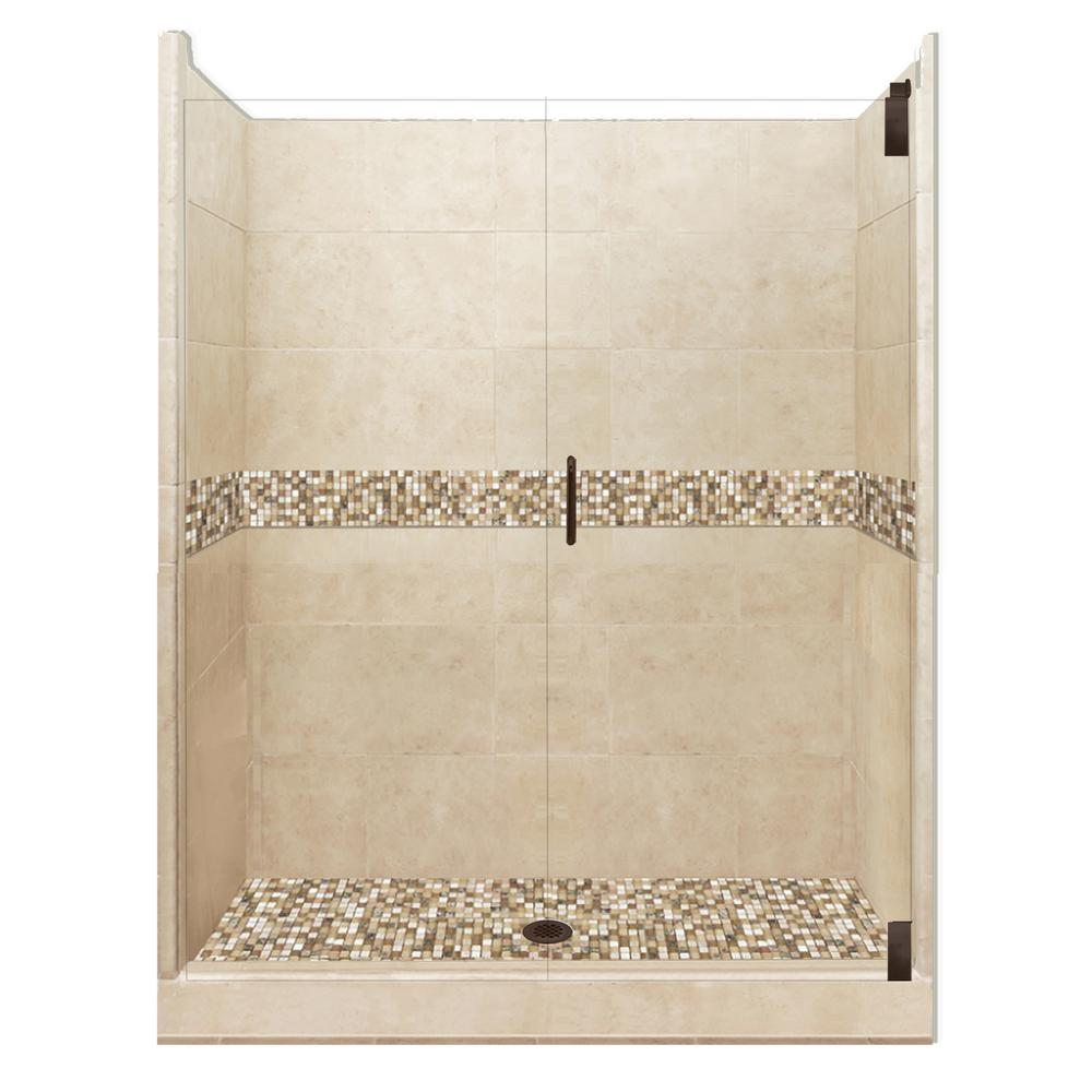 Roma Grand Hinged 36 in. x 60 in. x 80 in.