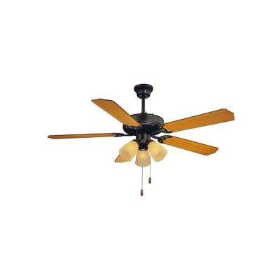 Manford 52 in. English Bronze Indoor Ceiling Fan