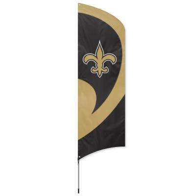 New Orleans Saints Tall Team Flag